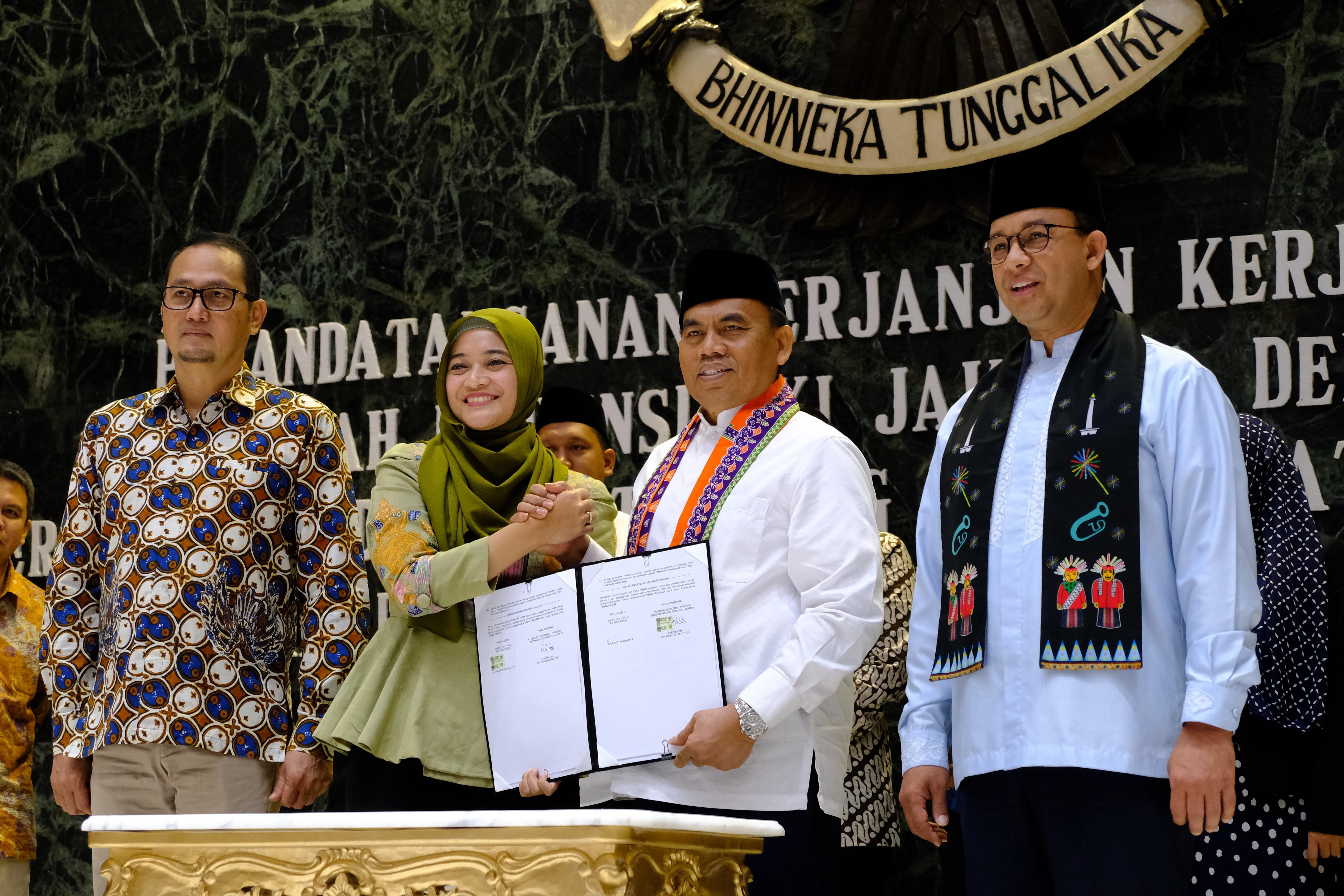 Tokopedia Jadi Mitra Ekonomi Pemprov DKI Jakarta, Bantu Kembangkan Kota Cerdas. Foto: Tokopedia