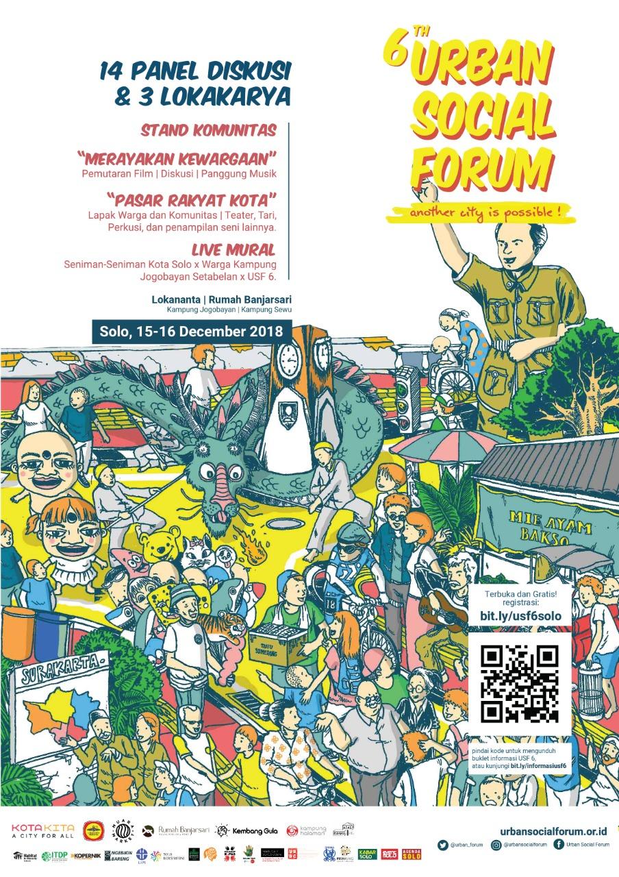 Urban Social Forum ke-6. Foto: Yayasan Kota Kita