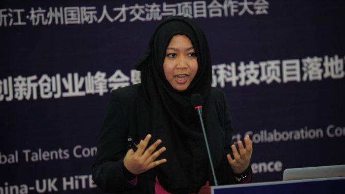 Nurma Larasati, CTO Astrajingga. sumber: Tribunnews