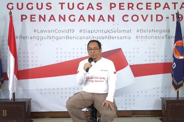 Ketua Umum Masyarakat Penanggulangan Bencana Indonesia sekaligus Koordinator Tim Relawan Gugus Tugas Percepatan Penanganan COVID-19, Dandi Prasetia. Foto: SINDOnews/binti mufarida