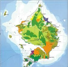 Peta Kabupaten Natuna