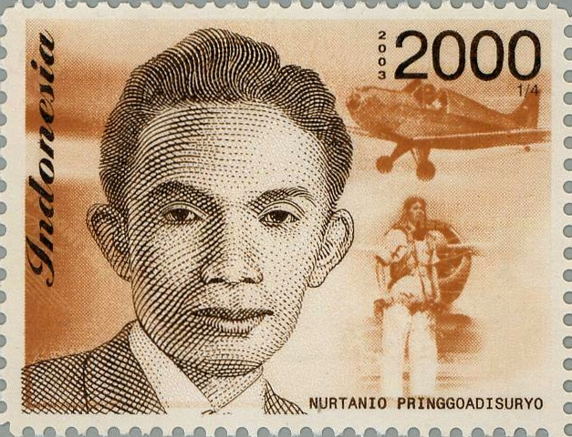 Nurtanio dalam Perangko (Sumber : Wikipedia)