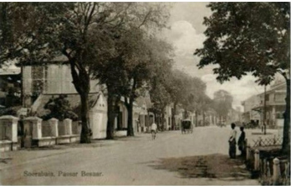 Soerabaia Passar Besaar (Source : J,M.Chs. Nijland dalam