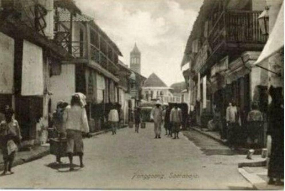 Panggoeng Soerabaia 1913 (Source : NV v/h H van Ingen dalam