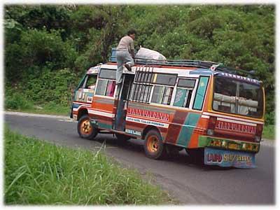 Kernet Bus Sinabung Jaya