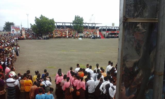 upacara parade pesona kebangsaan