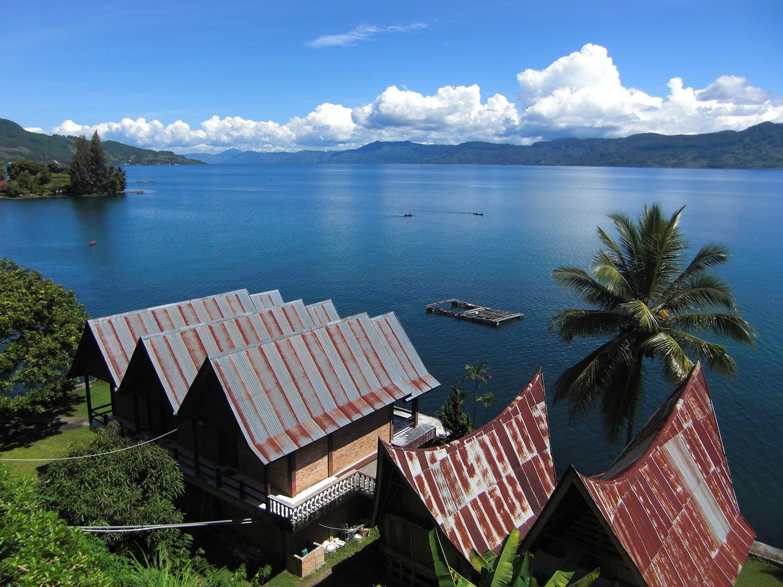 Danau Toba terbentuk dari letusan Gunung Toba 74.000 tahun silam
