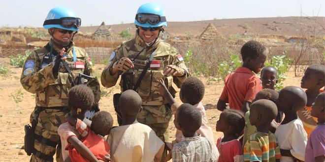 Pasukan perdamaian PBB di Darfur