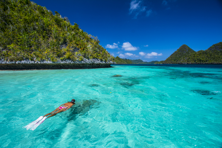 Berenang di Surga Indonesia