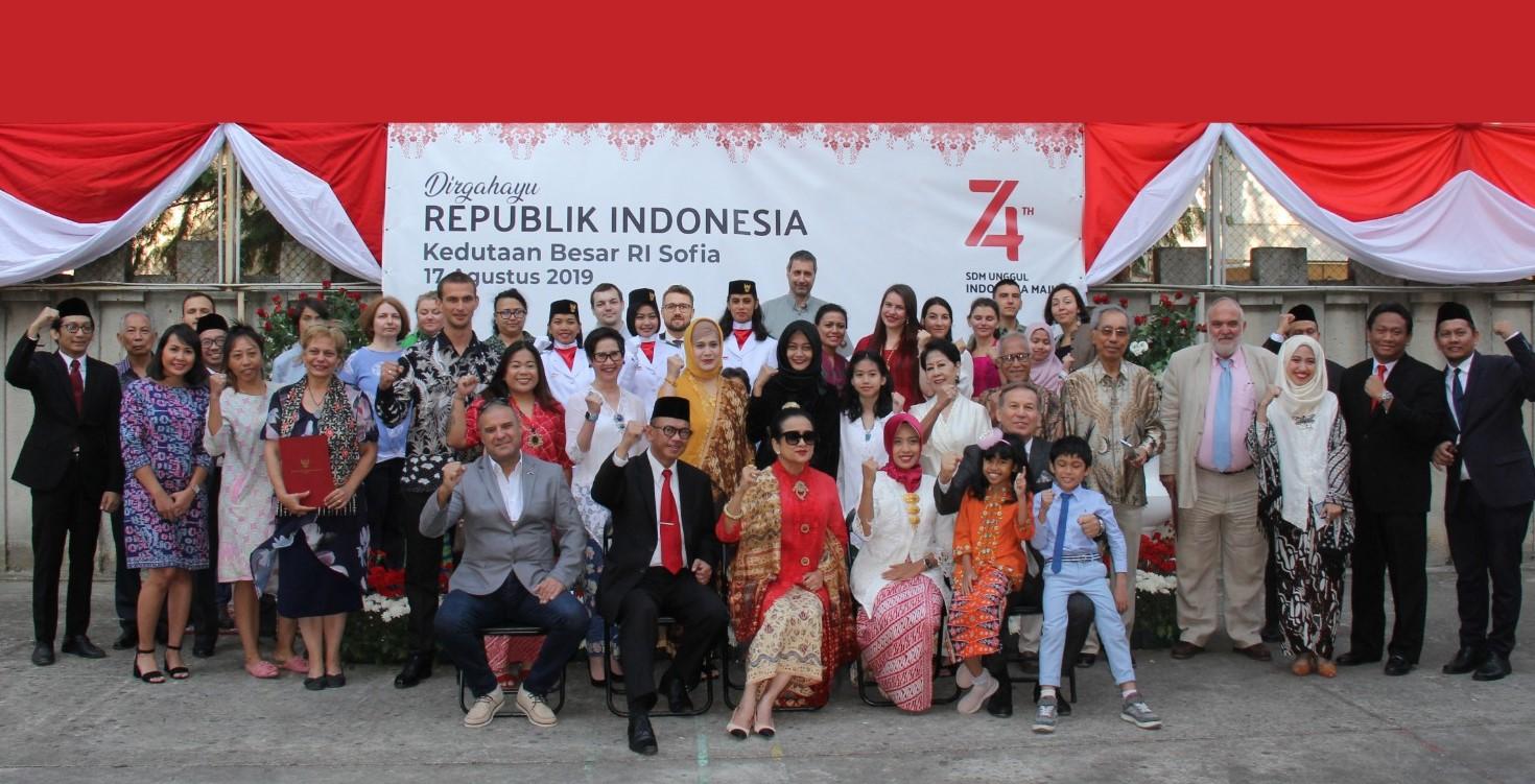 Keluarga besar WNI dan Disapora Indonesia