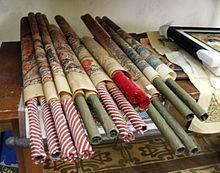 Gulungan Wayang Beber| Sumber: Wikipedia.id
