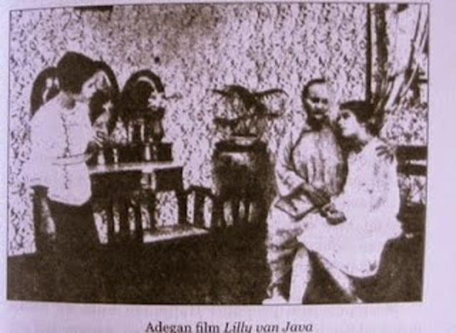 Salah satu adegan film Liliy Van Java   Sumber: Kumparan com