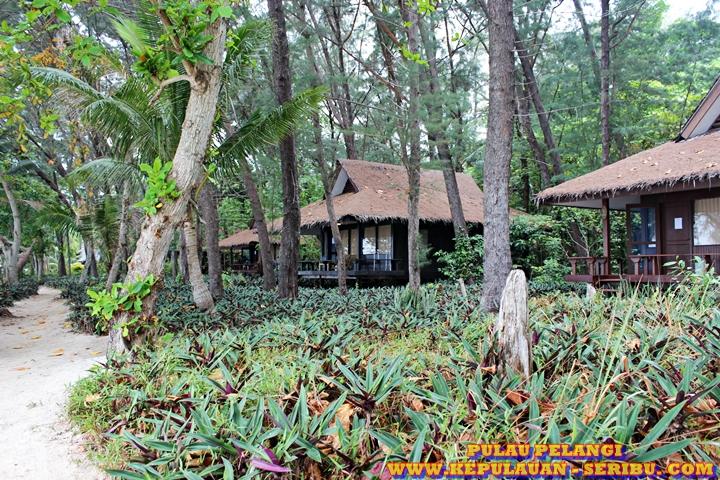Penginapan Bungalow Pulau Pelangi Resort Wisata Pulau Seribu Jakarta