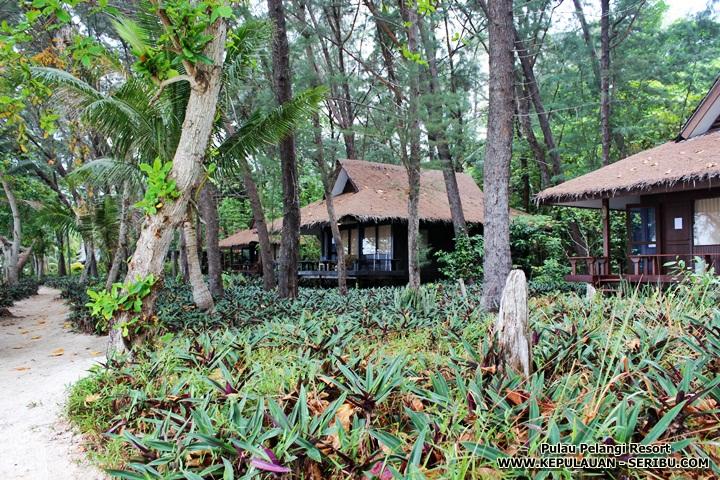 Bungalow Cottage Pulau Pelangi Resort Pulau Seribu