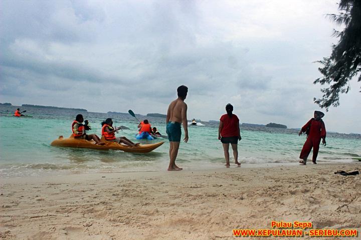 Wisata Pulau Sepa Resort Tour Kepulauan Seribu