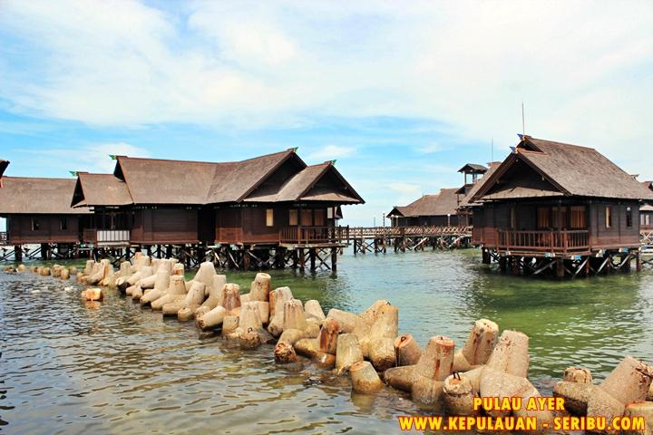Cottage Di Atas Laut ( Floating ) Pulau Ayer Resort Kepulauan Seribu
