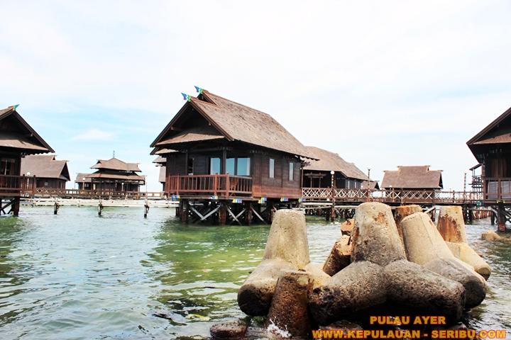 Cottage Di Atas Laut ( Floating ) Pulau Ayer Resort