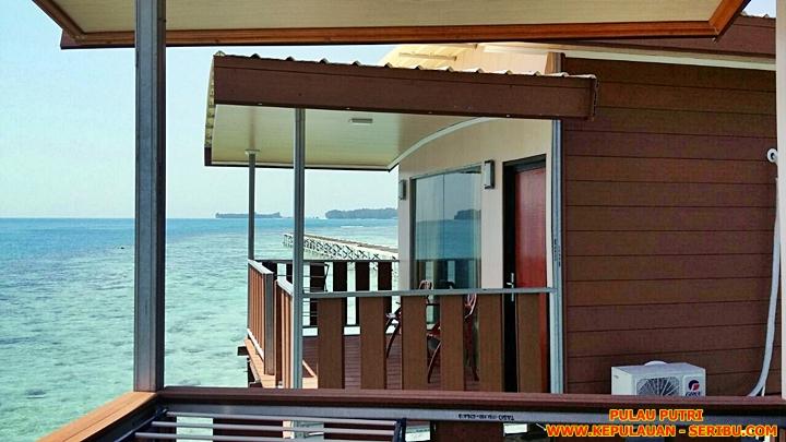 Cottage Di Atas Laut ( Floating ) Pulau Putri