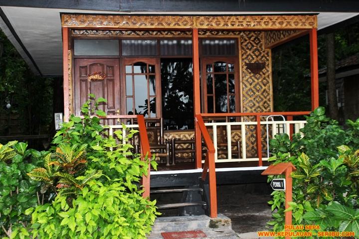 Cottage Pulau Sepa Resort Di Kepulauan Seribu