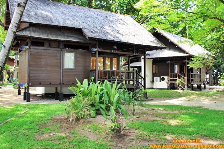 Cottage Panggung Di Darat Pulau Ayer Wisata Pulau Seribu