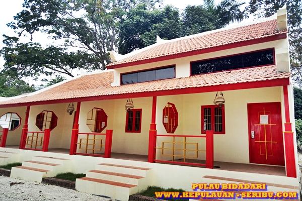 Cottage Bangunan Tipe Cina Pulau Bidadari