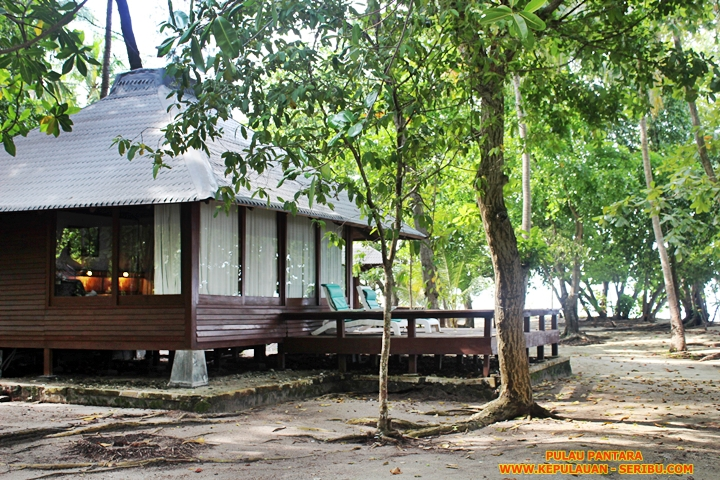 Cottage Pulau Pantara Resort Wisata Kepulauan Seribu