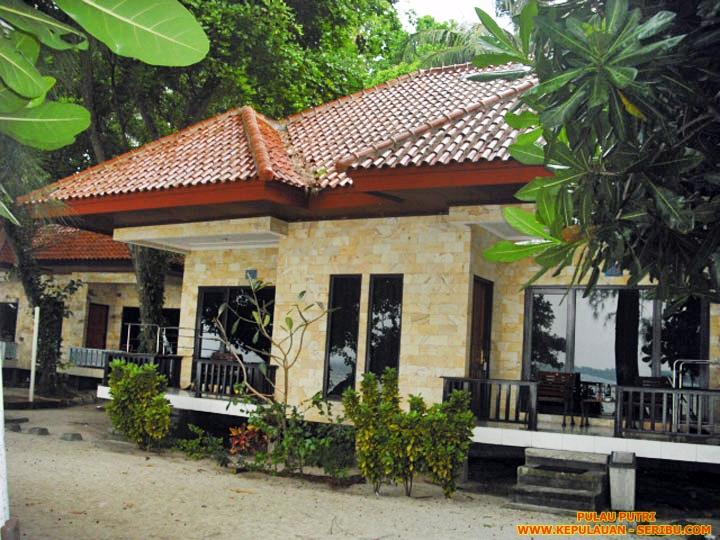 Cottage Pulau Putri Wisata Pulau Seribu