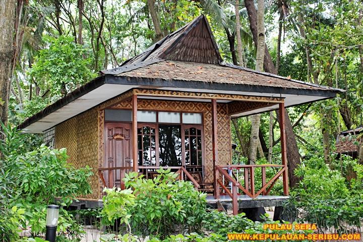 Cottage Pulau Sepa Wisata Pulau Seribu Jakarata