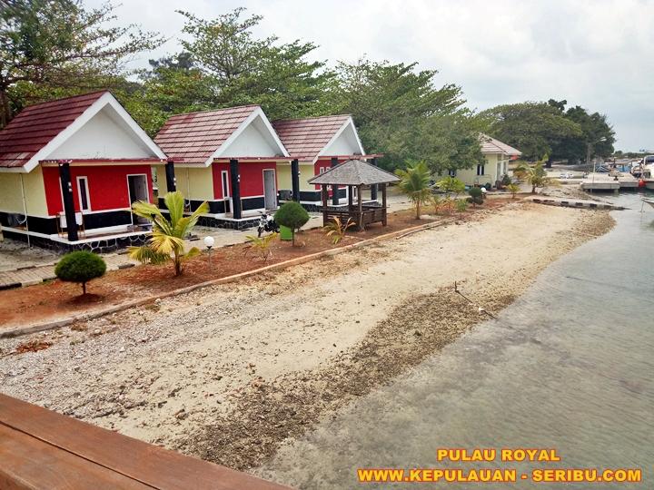 Cottage Pulau Royal Island Resort Kepulauan Seribu Jakarta