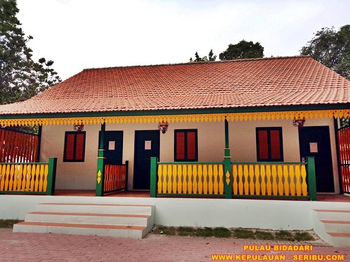 Cottage Bagnan Betawi Tempo Dulu Pulau Bidadari