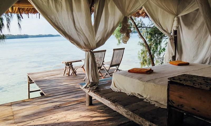Cottage Driftwoodhut Pulau Macan Resort Kepulauan Seribu