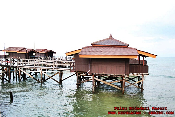 Floating Cottage Pulau Bidadari Resort