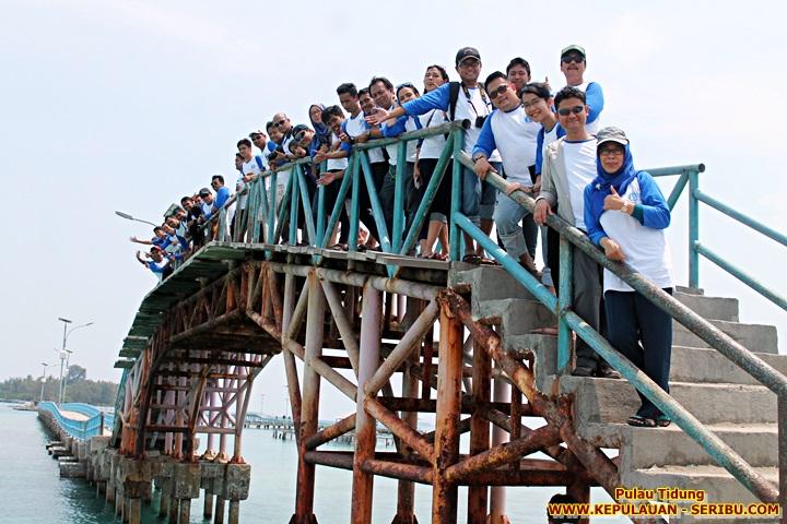 Jembatan Cinta Pulau Tidung Wisata Pulau Seribu