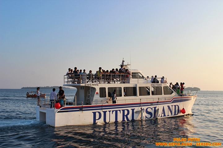 Sunset Cruise Pulau Putri Wisata Pulau Seribu