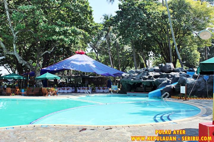 Kolam Renang Pulau Ayer Resort Wisata Pulau Seribu Jakarta