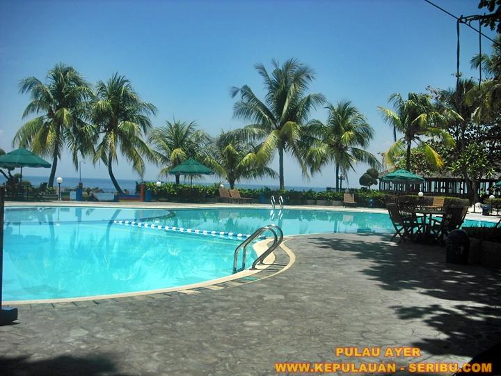 Kolam Renang Di Pulau Ayer Resort Wisata Kepulauan Seribu Jakarta