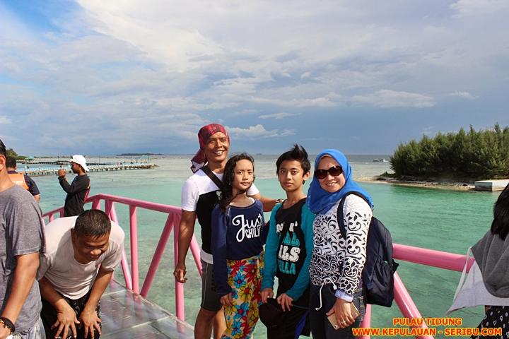 Jembatan Cinta Pulau Tidung Kepulauan Seribu