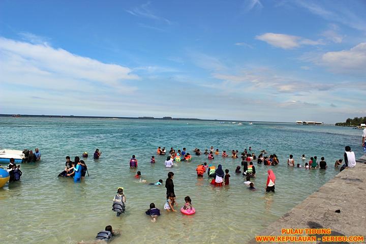 Pantai Pulau Tidung Wisata Pulau Seribu