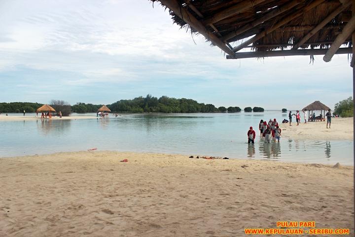 Pantai Pasir Perawan Di Pulau Pari Wisata Pulau Seribu