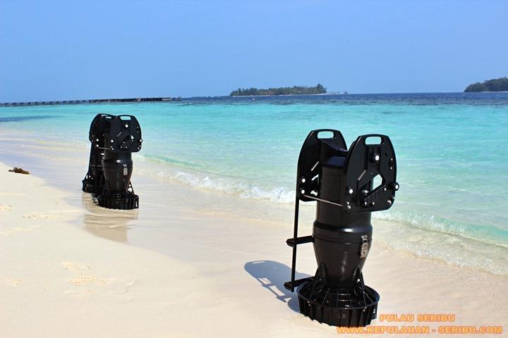 Pantai Pasir Putih Pulau Seribu Jakarta