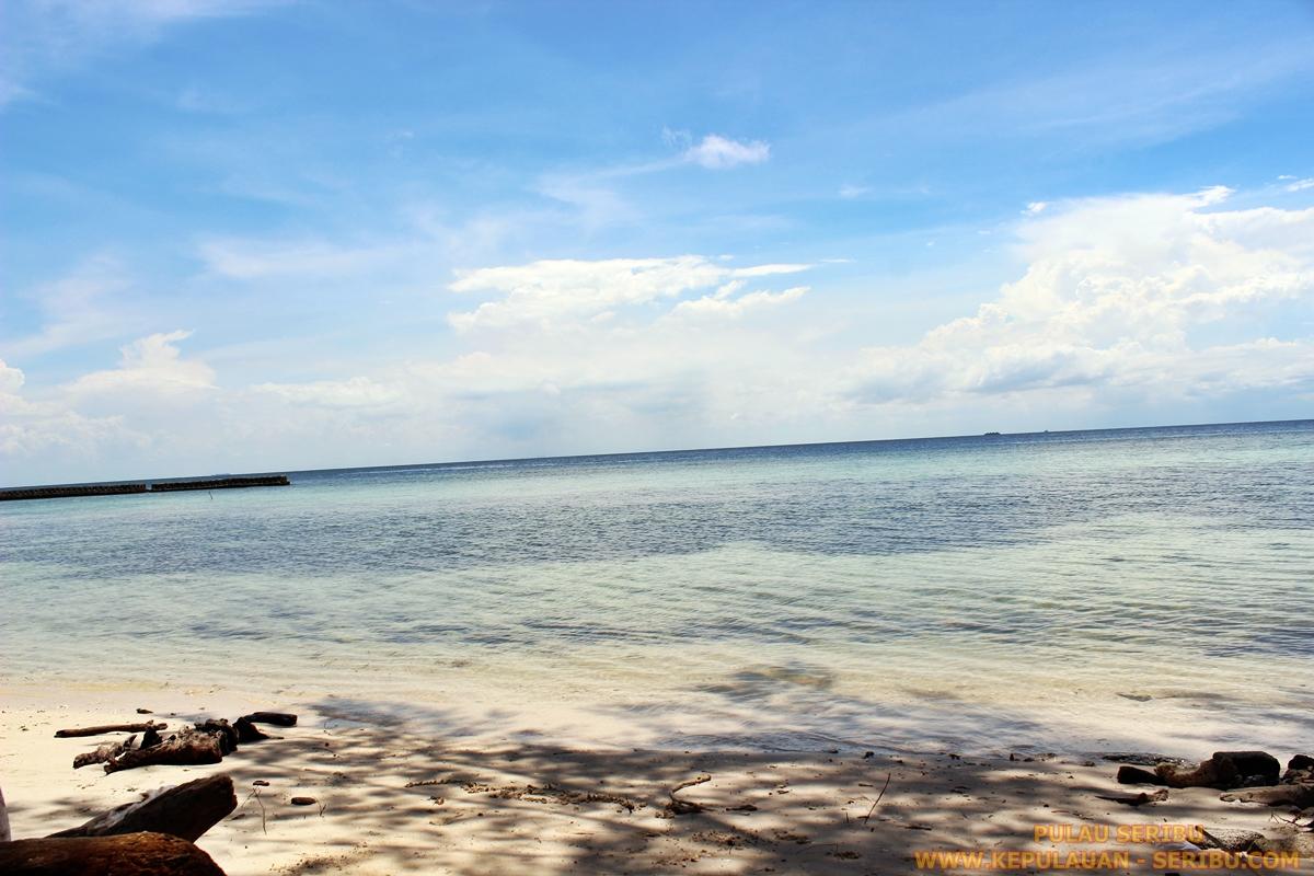 Pantai Pulau Seribu Obyek Wisata Pulau Jakarta