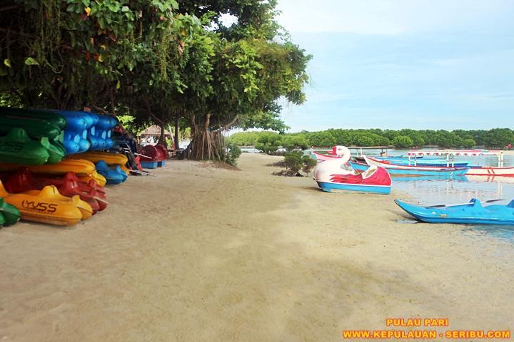 Fasilitas Pulau Pari Wisata Pulau Seribu
