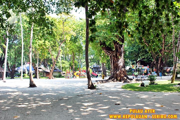 Playground Anak-anak di Pulau Ayer Resort
