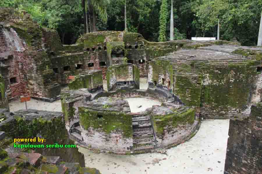 Benteng Martello Pulau Bidadari Resort