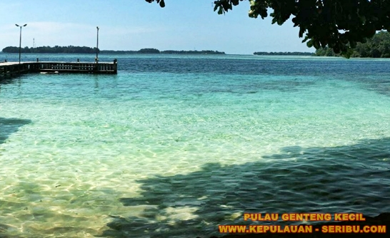 Pulau Genteng Wisata Pasir Putih Jakarta
