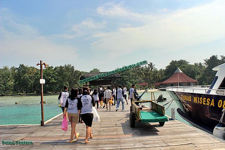 Pulau Pantara Resort Wisata Kepulauan Seribu