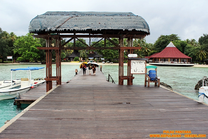 Pulau Pantara Wisata Pulau Seribu Resort Jakarta