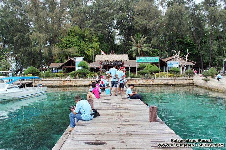 Wisata Pulau Pelangi Resort Pulau Seribu