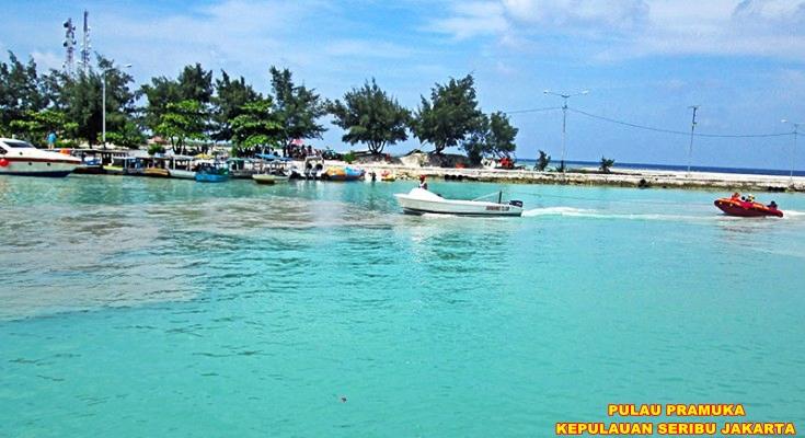 Pulau Pramuka Pulau Penduduk Wisata Kepulauan Seribu Jakarta