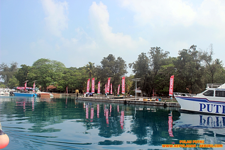 Pulau Putri Resort Wisata Kepulauan Seribu Jakarta